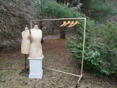 Vintage Industrial Clothing Rack. $725.00, via Etsy.