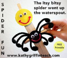 Kathy Griffin's Teaching Strategies: Itsy Bitsy Spider Language Fun