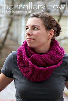The Mallory Cowl - Adult Version!!! I'm so excited for you all to make this! I love it!
