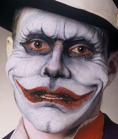 Evil clown prosthetic