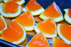 Orange Creamsicle Jello-O Shots - how to found here http://www.jerseygirlcooks.com/2011/07/orange-creamsicle-jello-shots.html