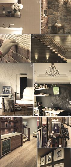Decorating Basement Walls: Ideas from Stamped Concrete to Chalkboard Paint