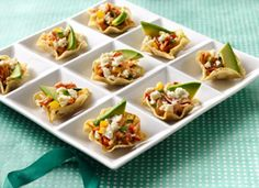 Crab and Pepper Jack Tostaditos