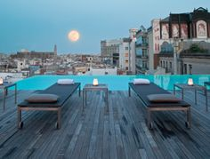 sky bar, dream, pool, rooftop, travel, grand hotel central barcelona, place, barcelona spain, hotels