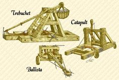 Reference for battle scenes Siege Engines