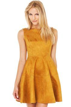 Skater Dress   Yellow Dress   Mini Dresses