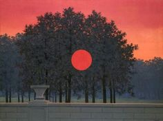 Magritte. The banquet. 1958