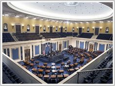 The Chamber of the United States Senate, U.S. Capitol Building, Washington, D.C.