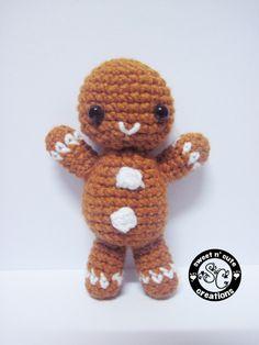 Free Crochet Pattern For Gingerbread Man : Gingerbread man on Pinterest Gingerbread Cookies ...