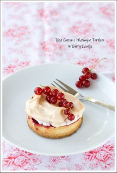 Berry Lovely: Red Currant Meringue Tartlets