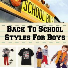 back to school clothes for boys _ lots of great ideas