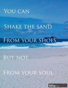 my love for the beach