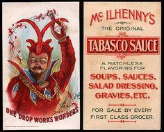 """1900 ad: """"One Drop Works Wonders"""""""