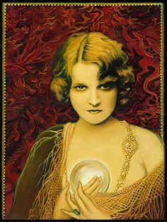 Gypsy Queen  Psychic Mythological Goddess Art 8x10 by EmilyBalivet, $15.00
