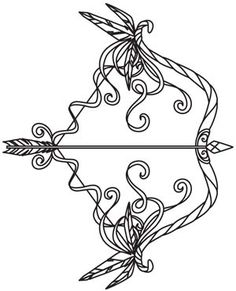 an arrow can only be shot by pulling it backward. when life is dragging you back with difficulties, it means its going to launch you into something great. so just focus, and keep aiming. Tattoo Ideas, Arrow Tattoo Design, Arrow Tattoos, Embroidery Design, Tattoo Designs, Bows Arrows Tattoo, Bows And Arrows Tattoo Design, Urban Thread, Ink