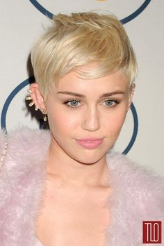 Miley Cyrus in Calvin Klein Collection at the 2014 Clive Davis Pre-Grammy Gala | Tom & Lorenzo Fabulous & Opinionated