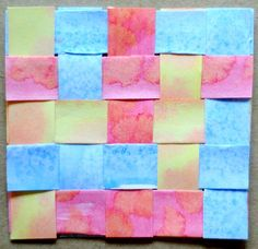 A great site with different craft projects your kids can do using index cards.