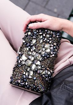 bling cocktail clutch - black/multi $69 AUD - free worldwide shipping
