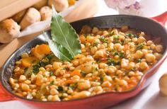 Crockpot Chickpea & Root Vegetable Stew (Gluten Free & Vegan)