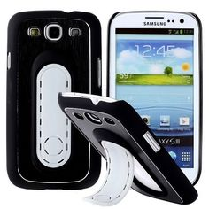 SIII Bend Stand (Musta) Samsung Galaxy S3 Suojakuori