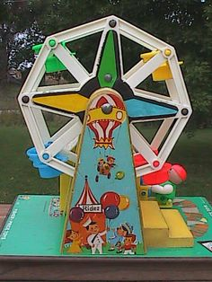 Fisher Price Ferris Wheel Music Box- I used to have this!  Totally forgot about it until I saw this.  Oh, the memories!