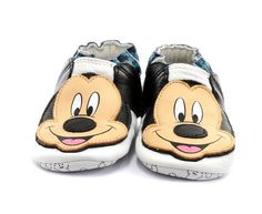 Adidas Mickey Mouse Crib Shoes