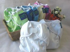 Kawaii set of 12 diaper covers - with snaps