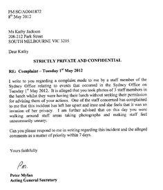 Formal letter of complaint format gallery letter format formal sample how to write a complaint letter about a colleague images letter formal letter format ks2 formal spiritdancerdesigns Choice Image