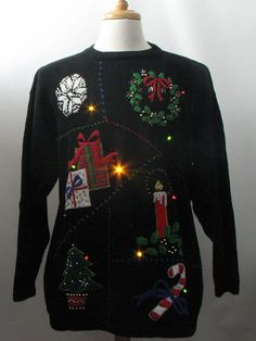 1980's Ugly Christmas Sweater