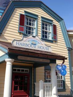 Columbia Harbour House at Walt Disney World's Magic Kingdom #Disney #DisneyFood