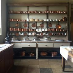 The kitchen dresser, Audley End House