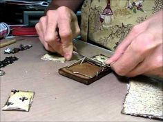 Altered Mousetrap using Fab Scraps - A Scrapn' blast from the Past Kit Revisited - YouTube