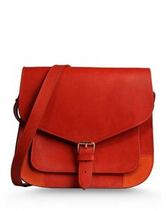 A.p.c. Suede Shoulder Bag - A fiery bag to heat up your Friday.