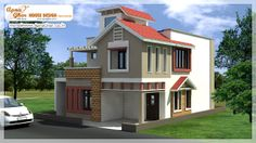 4 Bedrooms Duplex House Design in 150m2 (10m X 15m)  An Online Complete Architectural Solution Provider Company Click this link to view more details - http://apnaghar.co.in/house-design-388.aspx