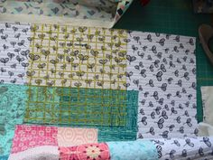 she can quilt: Quilt Binding Tutorial - hand and machine stitched ~ This is a a great step by step tutorial by Leanne of She Can Quilt! Use these tips, like how to square up your quilt and pressing the binding after attaching it to the front of the quilt and more on your next project with fabric from the Fabric Shack at http://www.fabricshack.com/cgi-bin/Store/store.cgi
