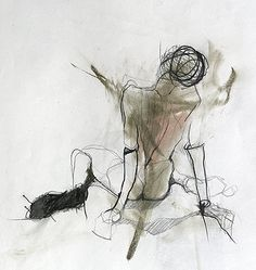 sketch by Jylian Gustlin Really like this style of figurative drawing