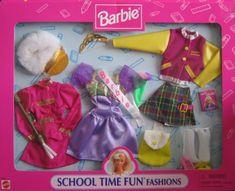 Barbie School Time Fun Fashions w Majorette, « Dress Adds Everyday