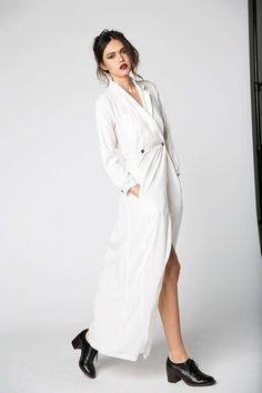 Boston Gown White