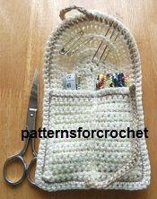 Patrón de crochet gratis kit des de costura a mano EE.UU. ✭Teresa Restegui http://www.pinterest.com/teretegui/ ✭
