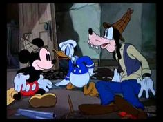 Mickey Mouse, Donald Duck, and Goofy - Lonesome Ghosts  http://toonhalloffame.com