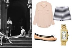 Madeleine's co-ed couture -- once she outgrows her Parisian uniform and Miss Clavel.   How to Master the Preppy Look - 7 Sisters Style - Elle