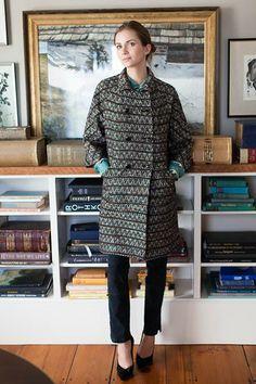 Gusset Coat - Wool Tweed | Emerson Fry