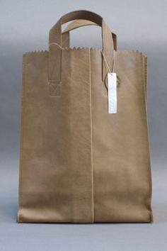 'paper' bag purse