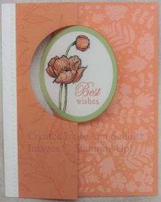 Cantaloupe Flip Card by jreks - Cards and Paper Crafts at Splitcoaststampers