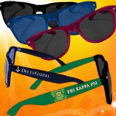 Fraternity Sunglasses $15.00 #Greek #Fraternity #Accessories #Sunglasses