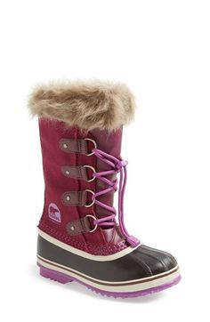 SOREL 'Joan of Arctic' Boot (Little Kid & Big Kid) available at #Nordstrom