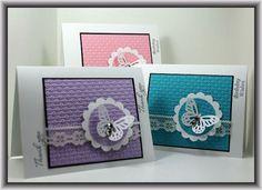 card set w/butterflies