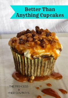 Better Than Anything Cupcakes #cupcake #cupcakerecipe #cupcakeidea