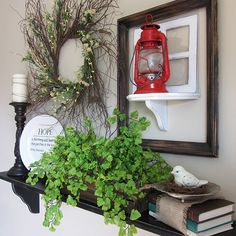 Thrifty spring decor