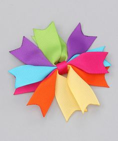 Spike hair bow